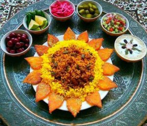 Iranian-food-decoration